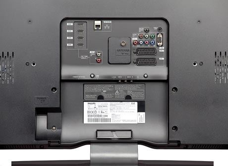 Philips 52 PFL 9704 LCD - Connection Panel