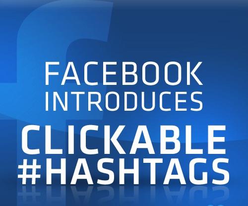 Facebook Clickable Hashtag