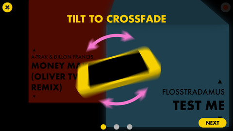 Crossfader-for-iPhone-DJ-app