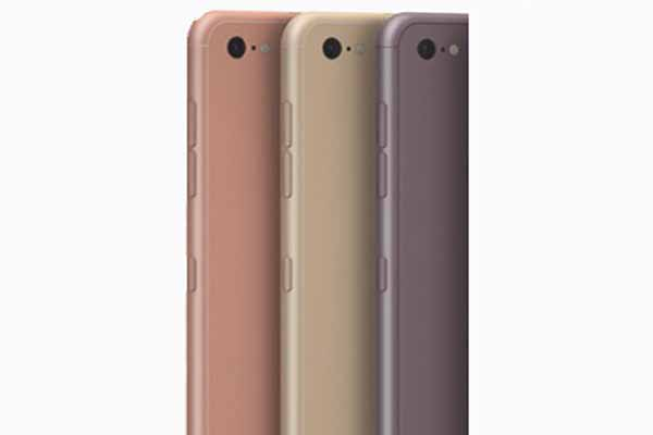 iPhone 7 to Have Four Different Colours - No Space Black Colour Model