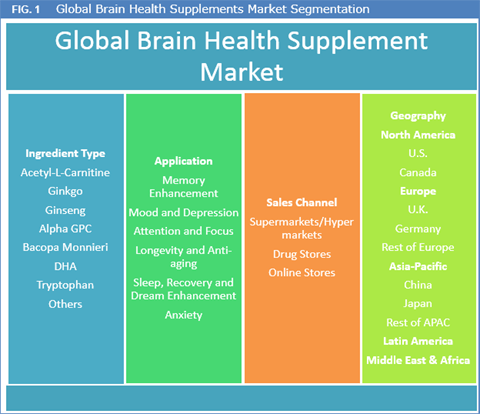 Global Brain Health Supplements Market to Reach Worth USD 11.6 Bn by 2024 - Credence Research