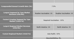 Travel Vaccines Market