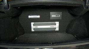 Lexus IS250 trunk