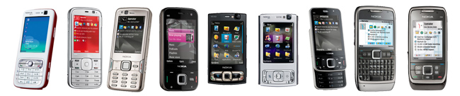 Symbian S60 V3 Handsets From Nokia