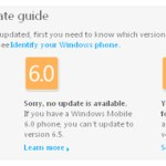 How to upgrade your phone to Windows Mobile 6.5