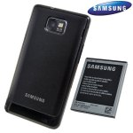 Black Cases Compatible with the Genuine Samsung Galaxy S2 Extended Battery