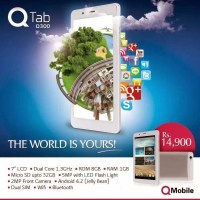 QMobile Unveils QTab Q300 for Just Rs. 14900