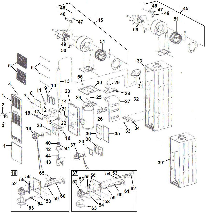 intertherm furnace parts diagram