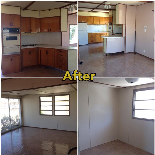 Mobile Home Makeover \u2013 Before and After Rehab Pictures \u2014 Mobile Home