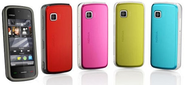 Nokia 5230: Cheap Colorful Touchscreen Phone