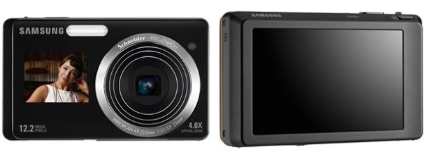 Samsung ST500 and ST550 Digital Cameras Have Front Screens
