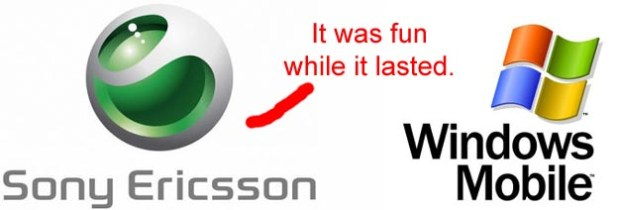 No More Windows Mobile for Sony Ericsson?