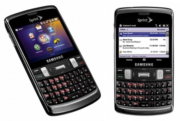 Go Global with Samsung i350 Intrepid from Sprint