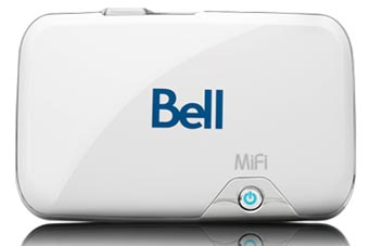 Bell Mobility Starts Shipping MiFi Hotspot Device