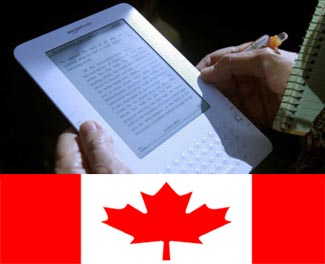 Canada Finally Gets Hands on Amazon Kindle eBook Reader