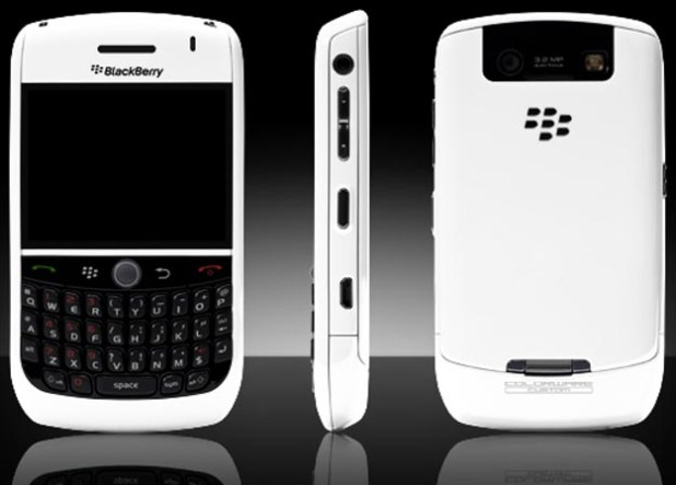 Colorware Ships Parts Only for BlackBerry Curve 8900
