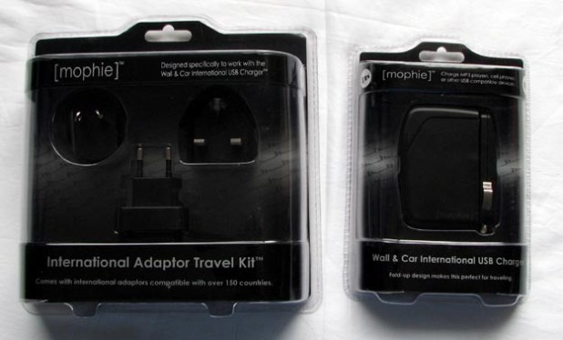 REVIEW - Mophie Car & Wall International USB Charger