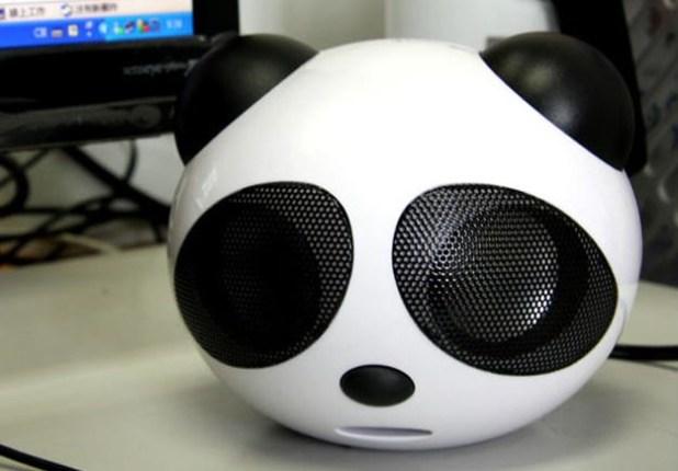 Use a Decapitated Panda Head as an iPod Speaker