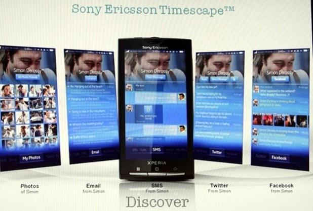 Custom Android UI Named Sony Ericsson Nexus