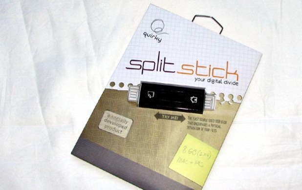 REVIEW - Quirky Split Stick USB Flash Drive