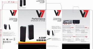 REVIEW - V7 A321P 2.1 Multimedia Speaker System