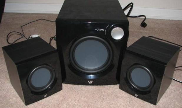 REVIEW - V7 A321P 2.1 Multimedia Performance Speaker System