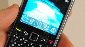 Blackberry 9100 Spotted - Photo: Slashphone