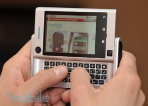 Motorola Devour on Verizion Wireless - Photo: Fabrizio Pilato