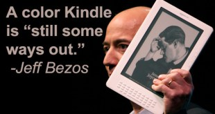 No color Kindle anytime soon.