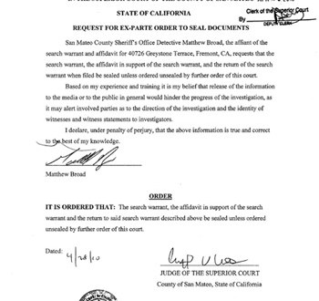 "Affidavit released pertaining to ""stolen"" iPhone 4G prototype"