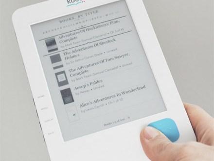 Kobo eReader pre-orders for June 17 shipment in the USA