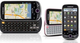 Samsung Intercept Android 2.1 smartphone for Sprint