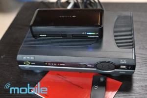 TruLink Wireless Transmistter next to Telus PVR Box