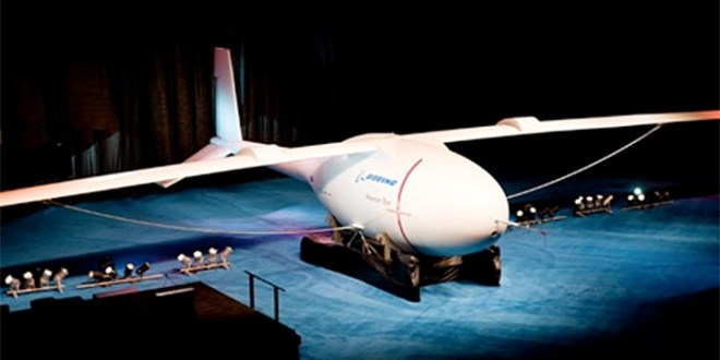 Boeing Phantom Eye hydrogen-powered unmanned bomber plane