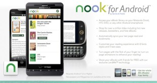 Barnes & Noble now offering Nook app to Android OS smartphones