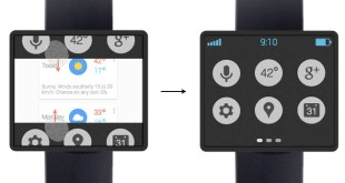 google smart-watch concept