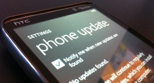 windows phone update