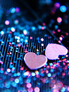 Cute Wallpapers For Phones Animated Download Love Bokeh Mobile Wallpaper Mobile Wallpapers