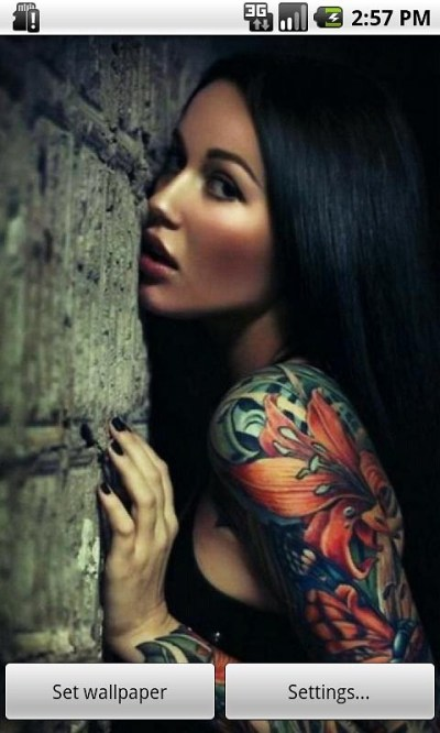 Tattooed Girls Live Wallpaper Free Android Live Wallpaper download - Download the Free Tattooed ...