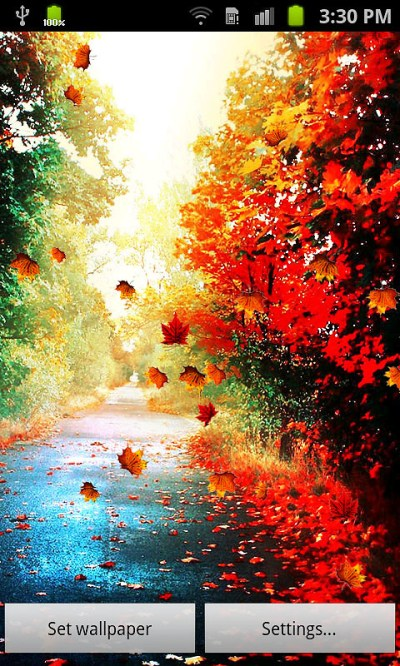 Autumn Live Wallpaper Free Android Live Wallpaper download - Download the Free Autumn Live ...