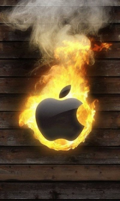 Burning Apple Live Wallpaper Free Android Live Wallpaper download - Download the Free Burning ...