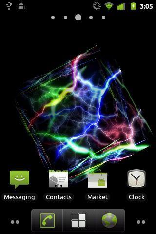 3d Cube Wallpaper Apk Thunder Cube 3d Live Wallpaper Free Android Live Wallpaper