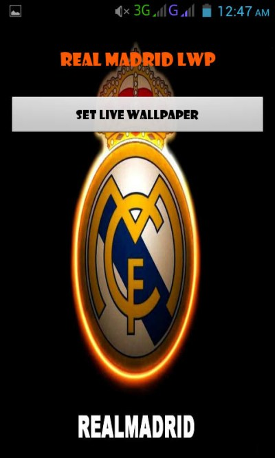 Real Madrid Live Wallpaper Free Android Live Wallpaper download - Download the Free Real Madrid ...