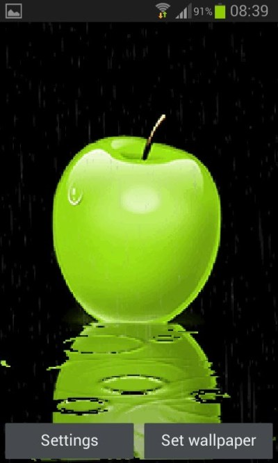 Green Apple Live Wallpaper Free Android Live Wallpaper download - Download the Free Green Apple ...
