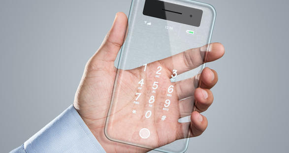 Transparent Mobiles - A Very Latest Technology