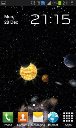 3d Melting Candle Live Wallpaper Download Free Android Wallpaper Solar System 3d 3398