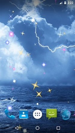 3d Live Wallpaper For Samsung Galaxy Core 2 Download Free Android Wallpaper Thunderstorm 3547