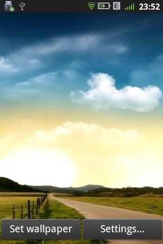 Download Free Android Wallpaper Real Weather - 2122 - MobileSMSPK.net