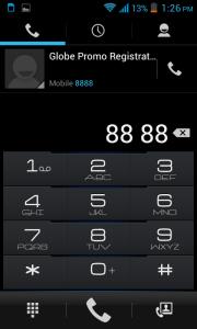 Cherry Mobile Titan TV Dialer