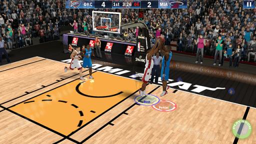 MyPhone A919i Duo Screenshots: NBA 2K13